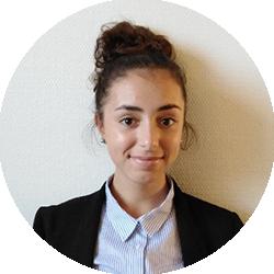 Gabrielle Petit, étudiante en droit à l'Université de La Rochelle